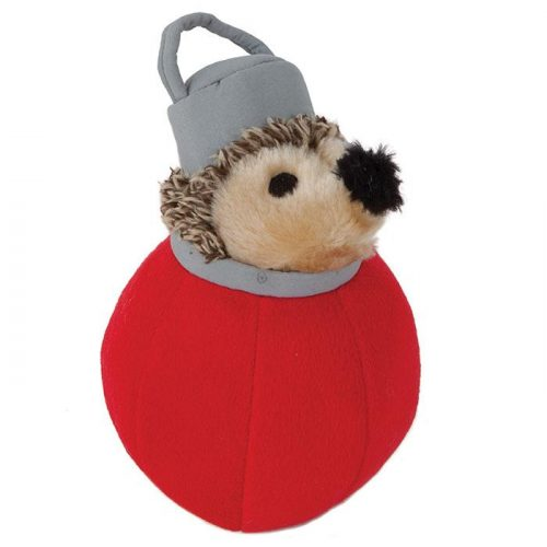 Holiday Heggie Plush Dog Toy