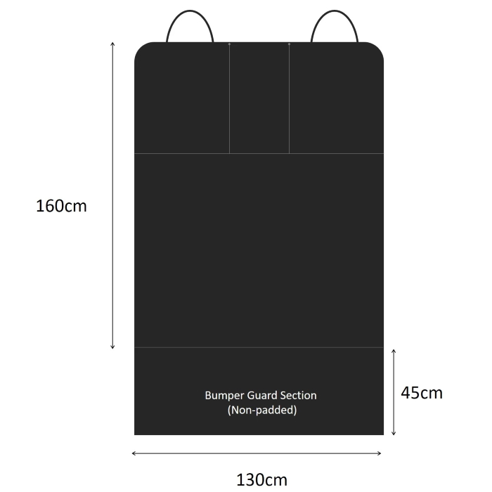 Pawmanity Cargo Liner Dimensions