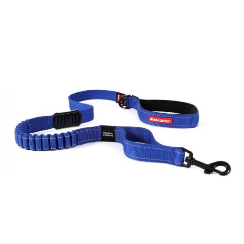 EzyDog Zero Shock Dog Leash Blue