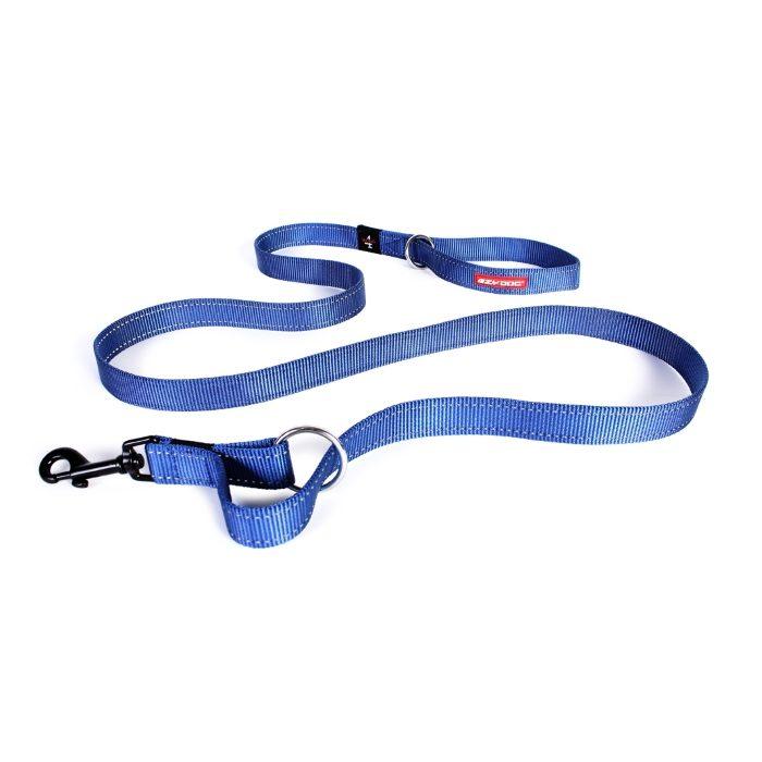 EzyDog Vario4 Dog Leash Blue