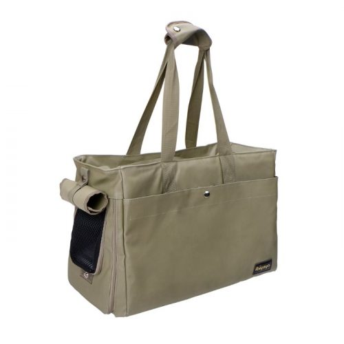 Canvas Pet Tote Soft Carrier Bag Army Green