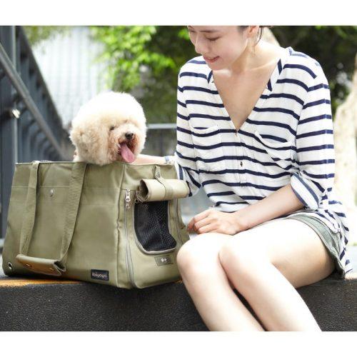 Canvas Pet Tote Soft Carrier Dog Bag Ibiyaya