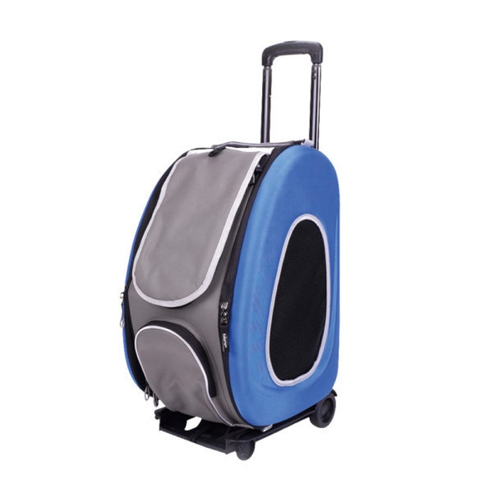 EVA 4in1 Pet Carrier Wheels Blue