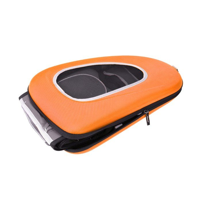 EVA 4in1 Pet Carrier Wheels Orange Flat
