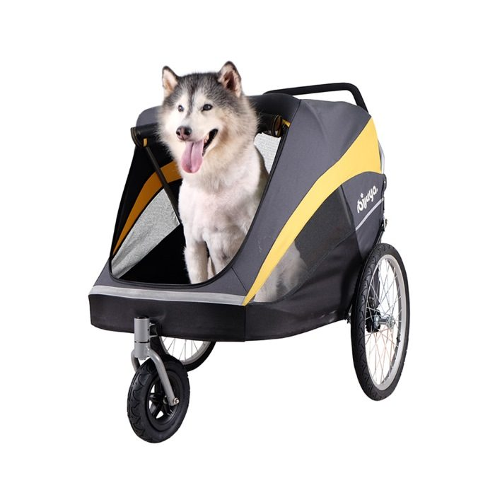Heavy Duty Pet Stroller with Dog