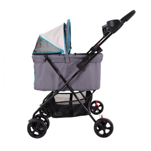 Ibiyaya Easy Strolling Pet Pram Side