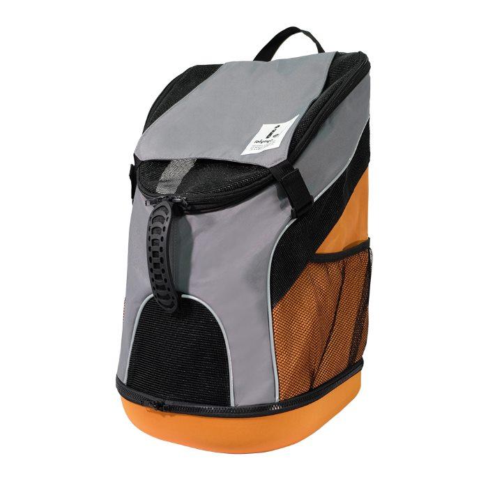 Ibiyaya Ultralight Backpack Pet Carrier Grey Front