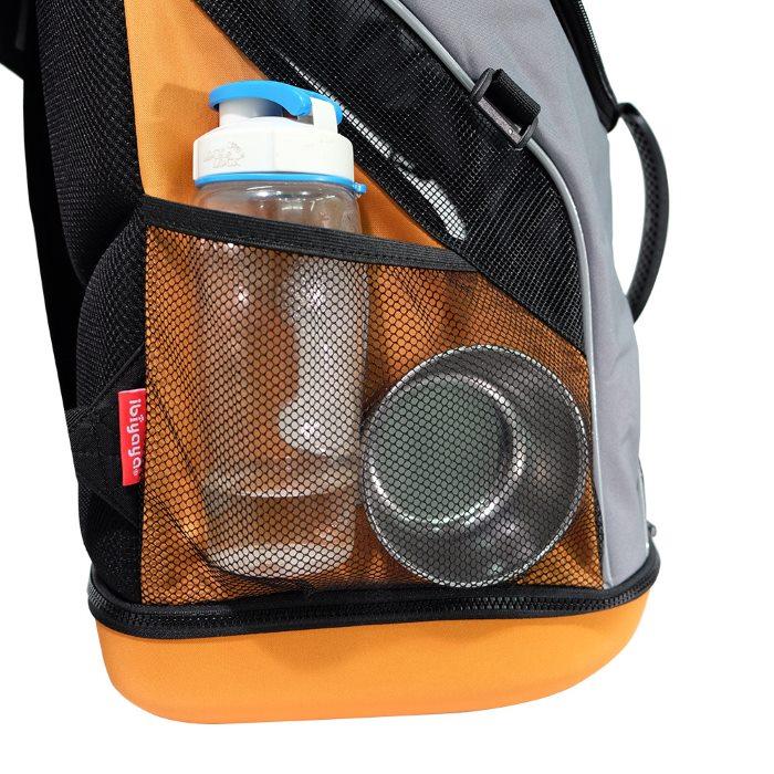 Ibiyaya Ultralight Backpack Pet Carrier Grey Storgae