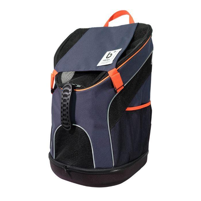Ibiyaya Ultralight Backpack Pet Carrier Navy Front