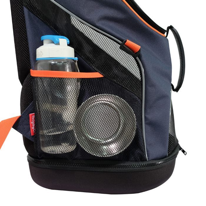 Ibiyaya Ultralight Backpack Pet Carrier Navy Storage