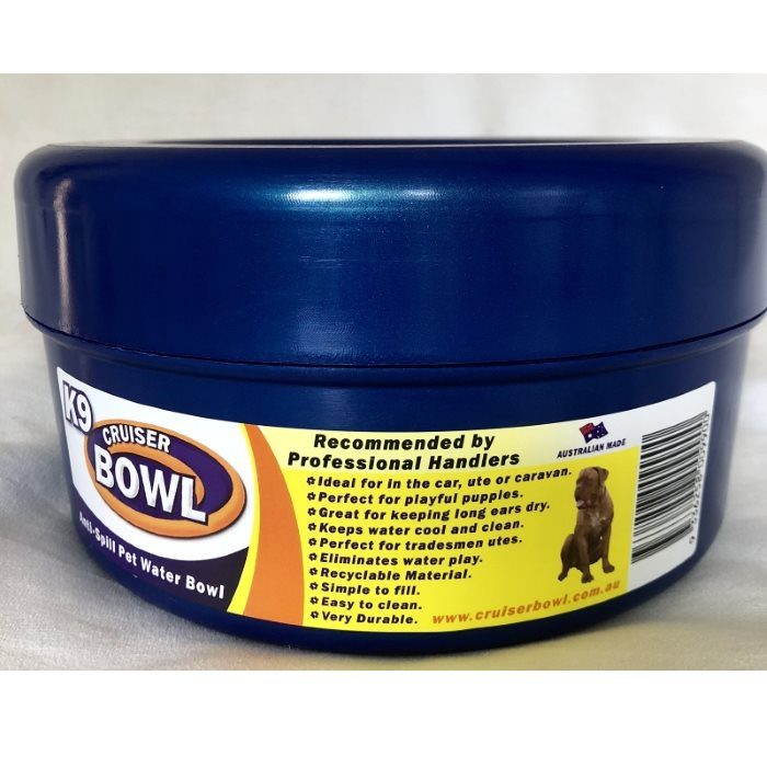 K9 Crusier Non Spill Bowl Blue