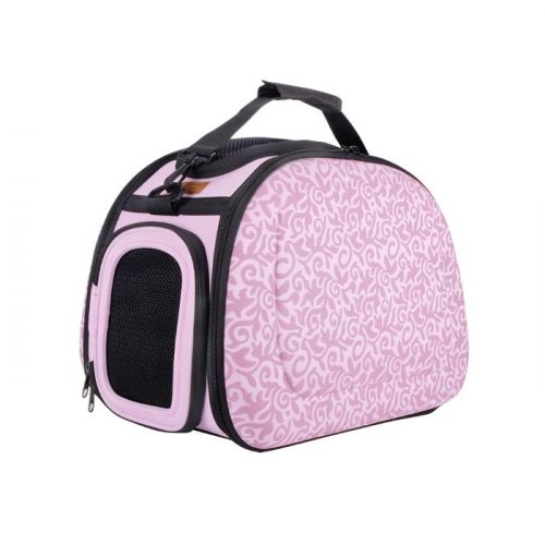 Shoulder Pet Carrier Bag_Baroque Pink