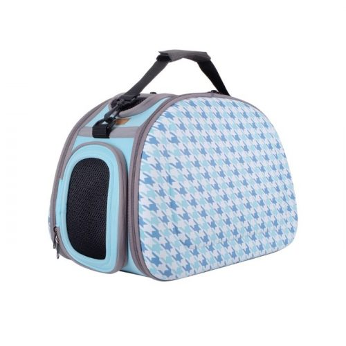 Shoulder Pet Carrier Bag_Chidori Blue
