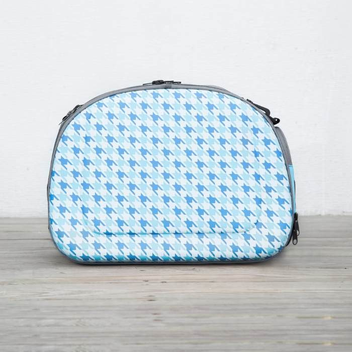 Shoulder Pet Carrier Bag_Chidori Blue_Side