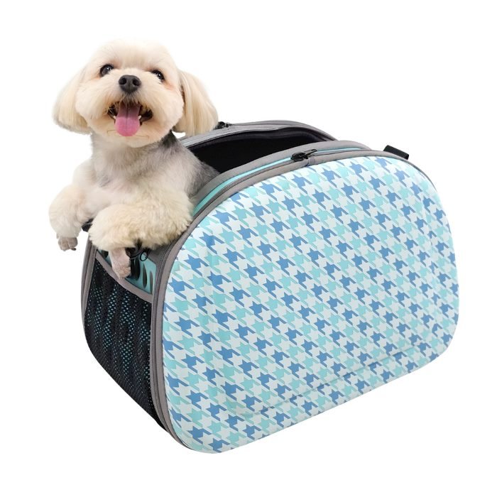 Shoulder Pet Carrier Bag_Chidori Blue_pup