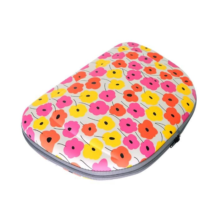 Shoulder Pet Carrier Bag_PoppyFlowers_Flat