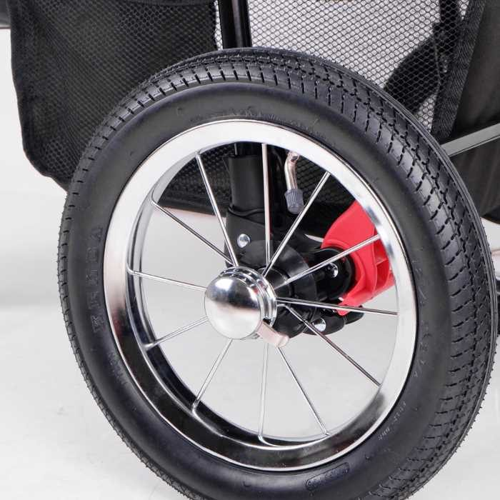 Turbo Pet Jogger Stroller Air Filled Tyres
