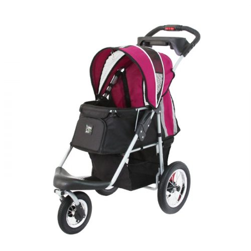 Turbo Pet Jogger Stroller Berry Pink