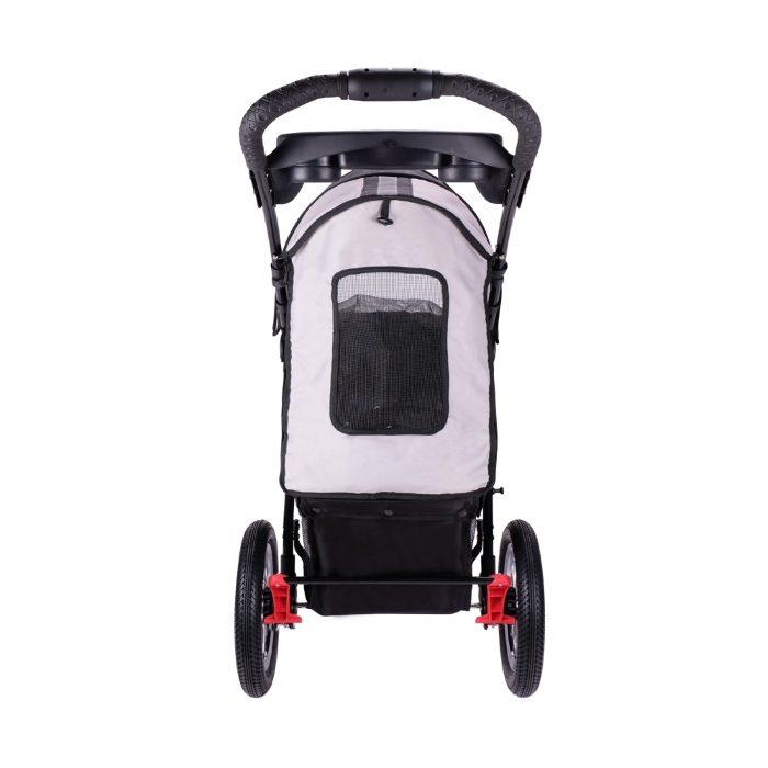 Turbo Pet Jogger Stroller Black Back