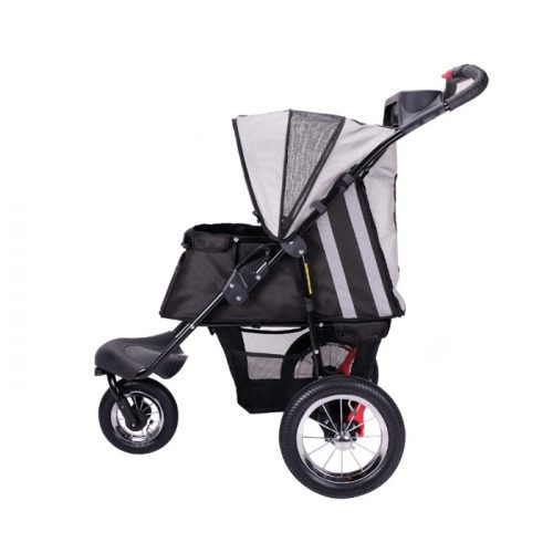 Turbo Pet Jogger Stroller Black Side