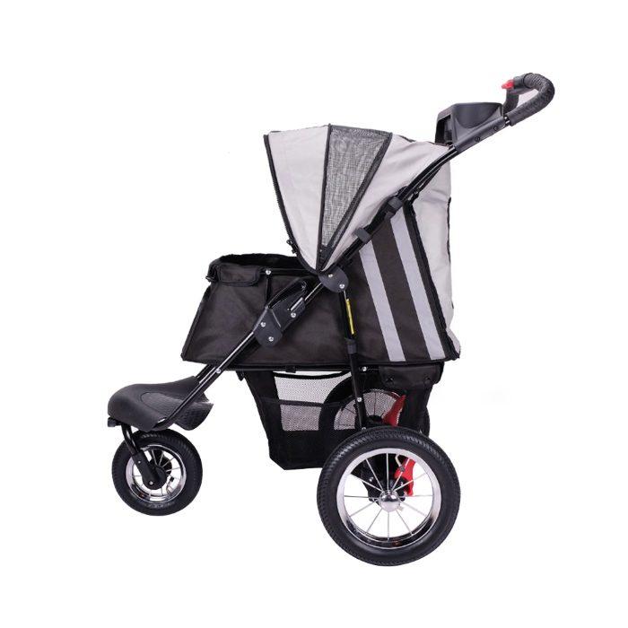 Turbo Pet Jogger Stroller Black Side