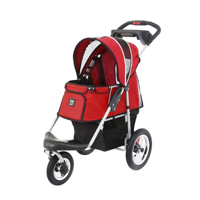 Turbo Pet Jogger Stroller Red