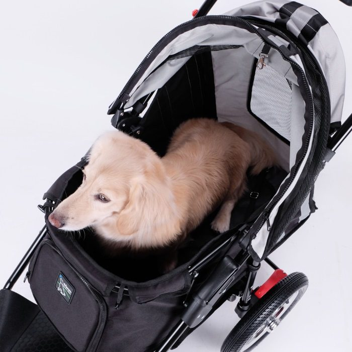 Turbo Pet Jogger Stroller internal space