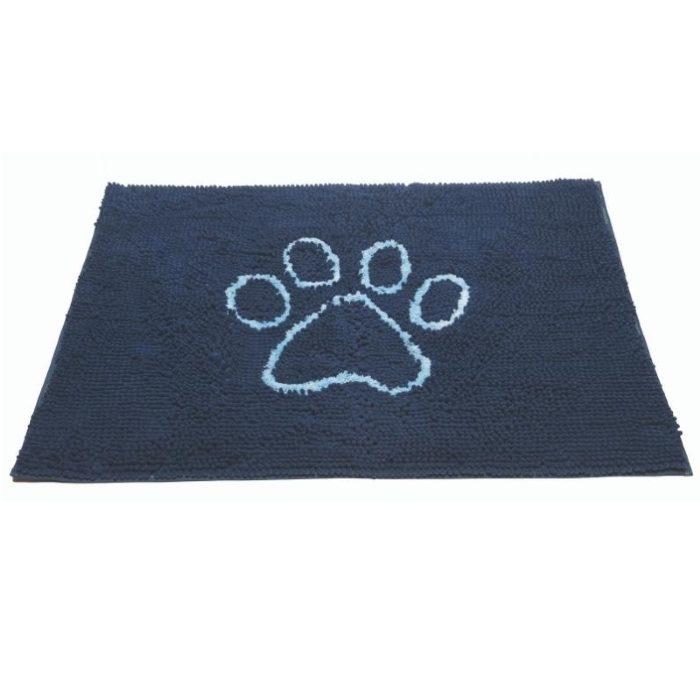 Dirty Dog Doormat Blue