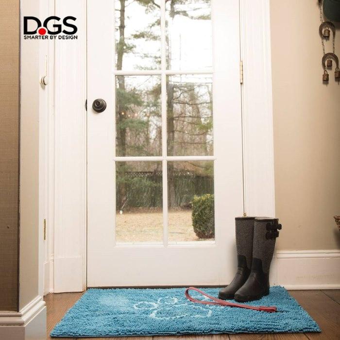 Dirty Dog Doormat Blue Gumboots