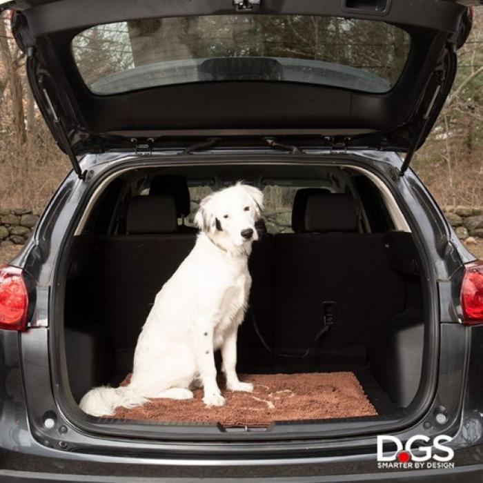 Dirty Dog Doormat Brown Car Boot