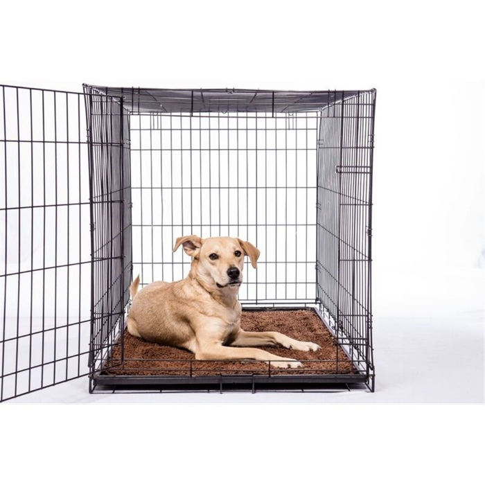 Dirty Dog Doormat Brown Dog Crate