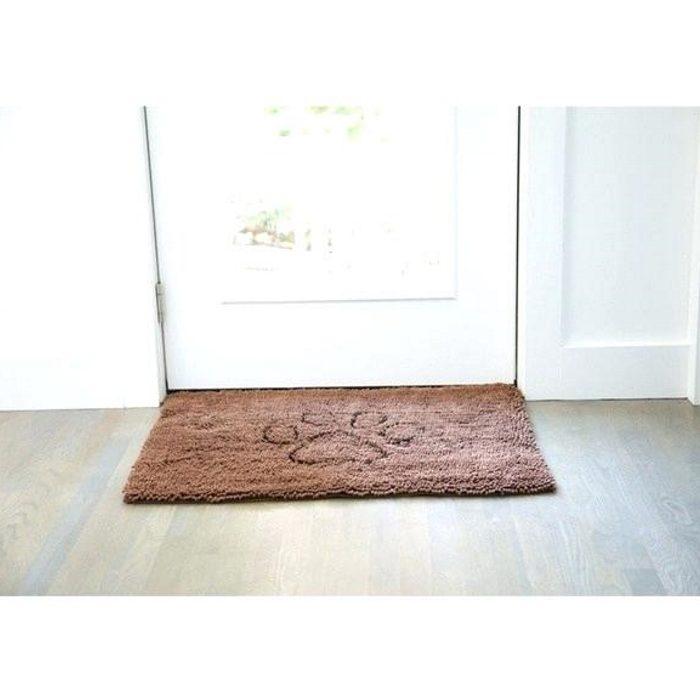 Dirty Dog Doormat Brown Door