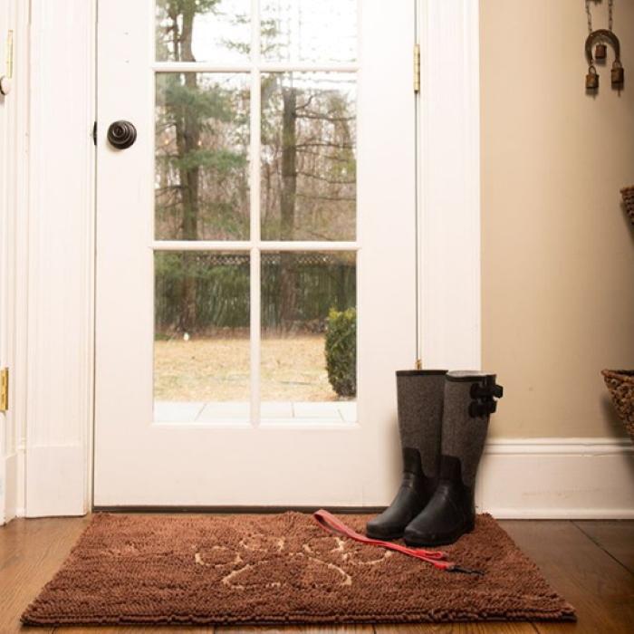 Dirty Dog Doormat Brown Front Door