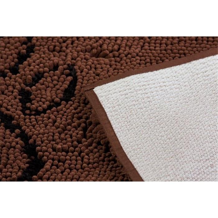 Dirty Dog Doormat Brown Nonslip backing