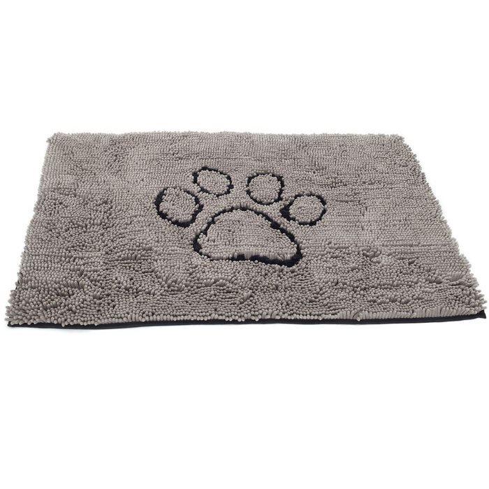 Dirty Dog Doormat Grey