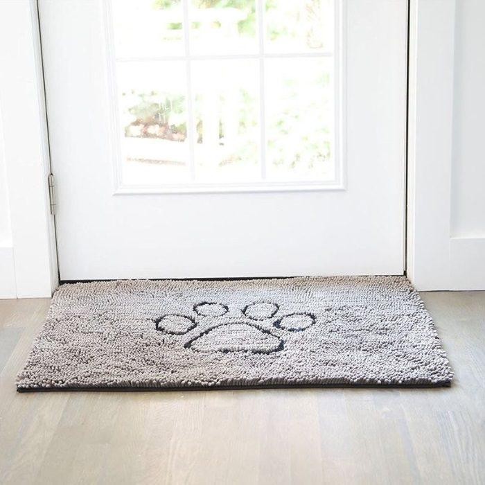 Dirty Dog Doormat Grey Door