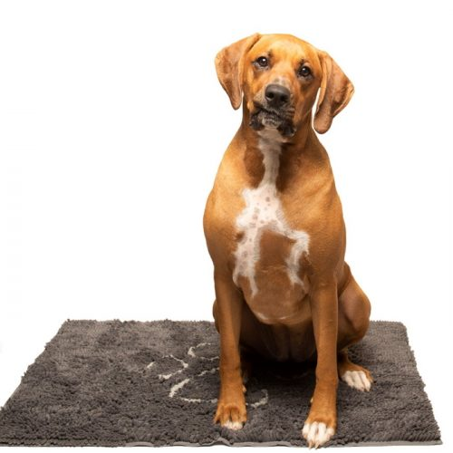 Dirty Dog Doormat Misty Grey