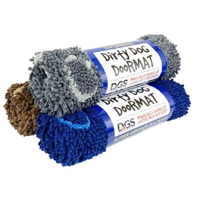 Dirty Dog Doormat colour range