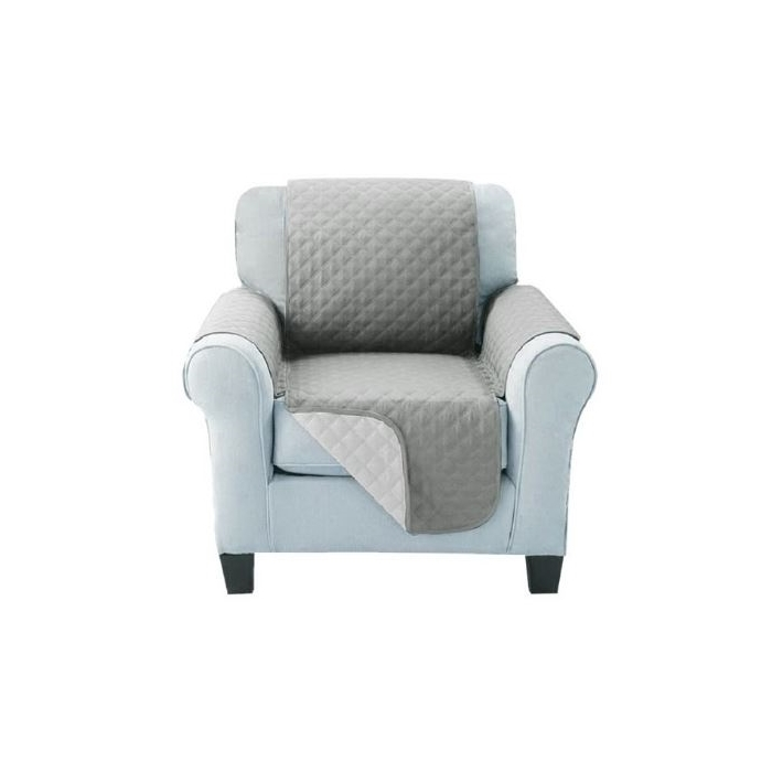 Sofa Cover One Seater Grey