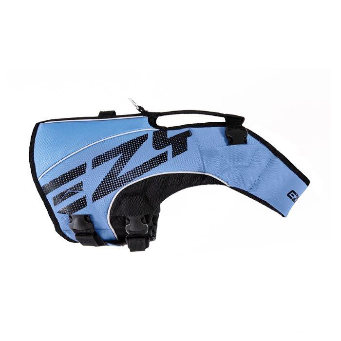 EzyDog DFD x2 Boost Dog Life Jacket Blue