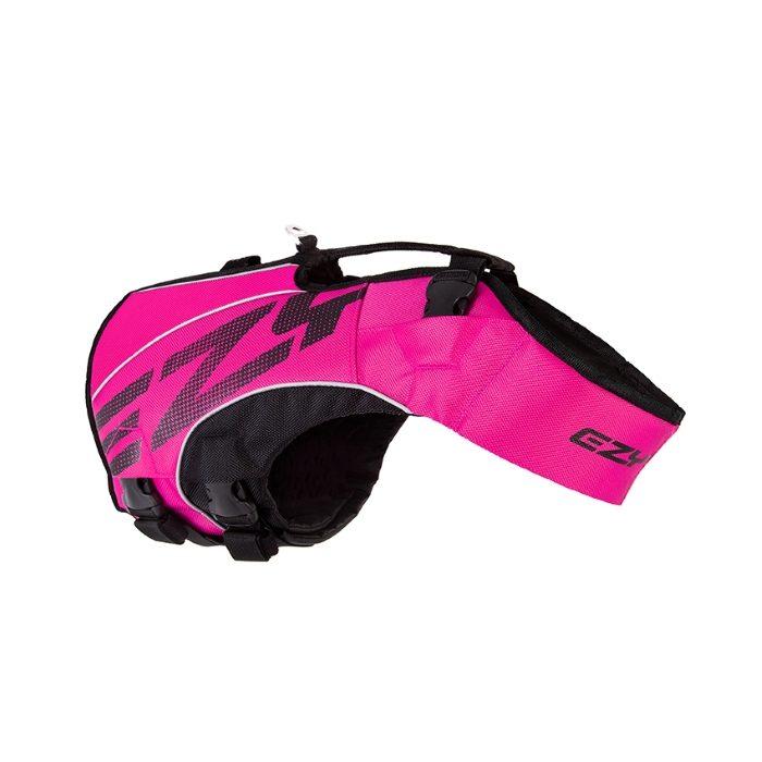 EzyDog DFD x2 Boost Dog Life Jacket Pink 2