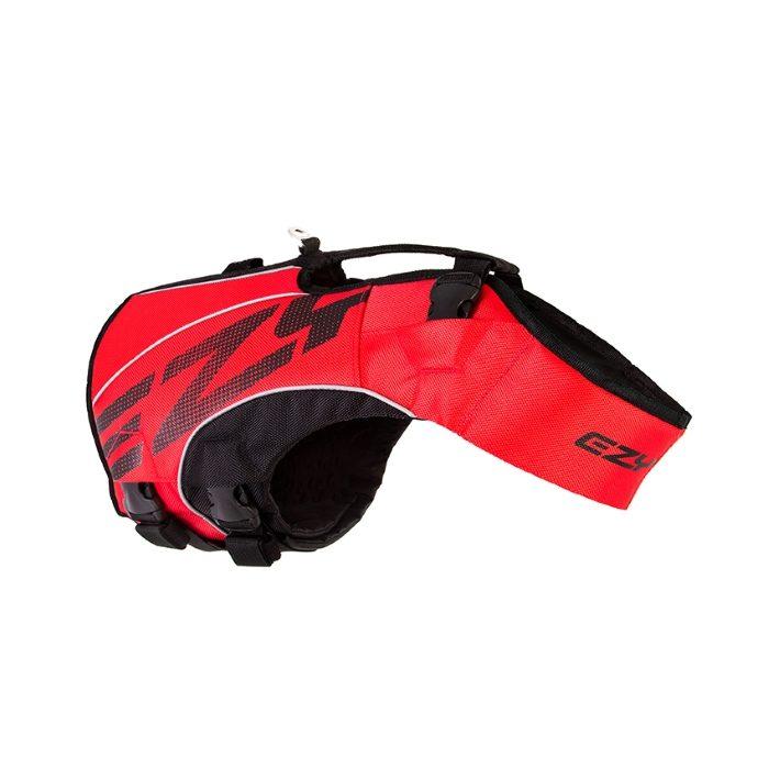 EzyDog DFD x2 Boost Dog Life Jacket Red 2