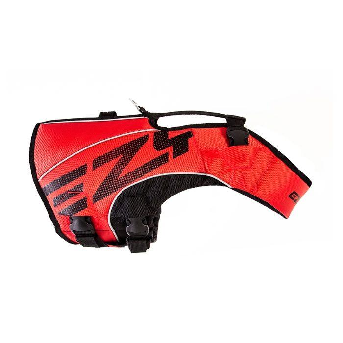 EzyDog DFD x2 Boost Dog Life Jacket Red
