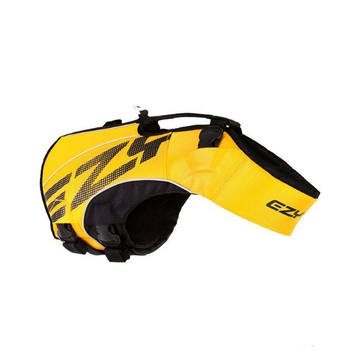 EzyDog DFD x2 Boost Dog Life Jacket Yellow 2