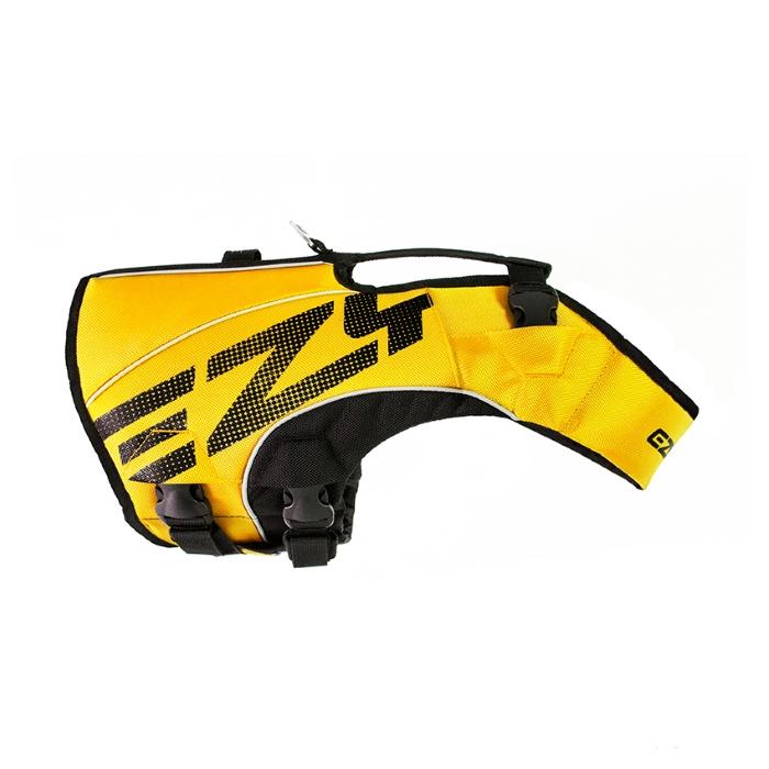 EzyDog DFD x2 Boost Dog Life Jacket Yellow