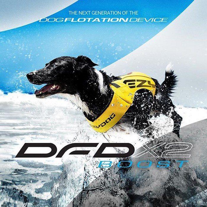 EzyDog DFDX2 Boost Dog Life Jacket