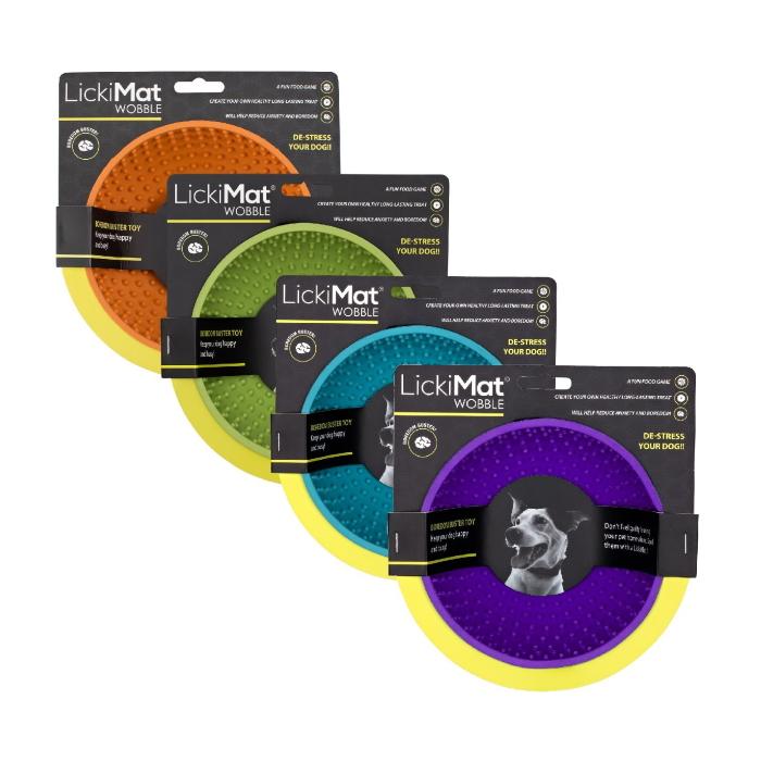 LickiMat Wobble Colour range