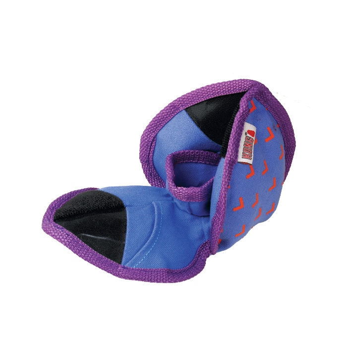 Kong Ballistic Hide n Treat Dog Toy Blue Pockets