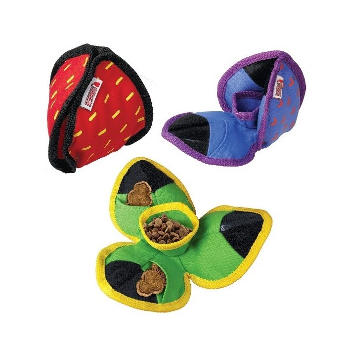 Kong Ballistic Hide n Treat Dog Toy Range