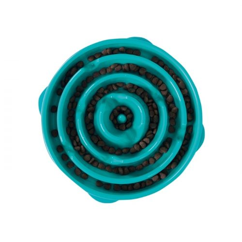 Outward Hound Fun Feeder_Teal_Large